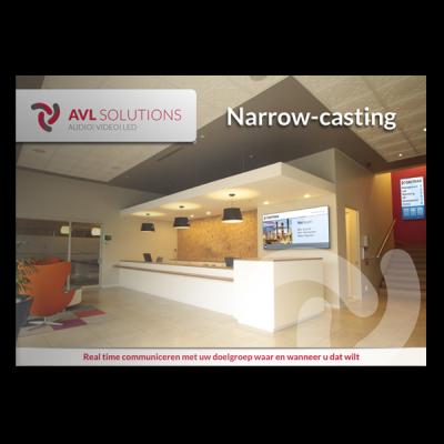 Narrowcasting brochure