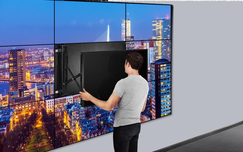 videowall installatie