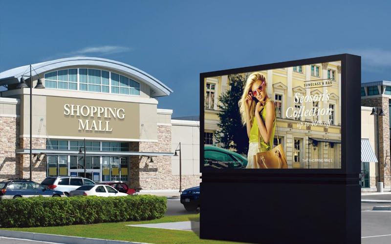 outdoor led wall winkelcentrum